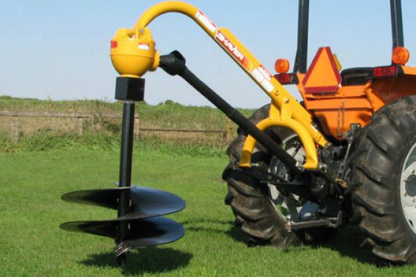 Shaver Post Drivers and Post Hole Diggers » Coastal Tractor
